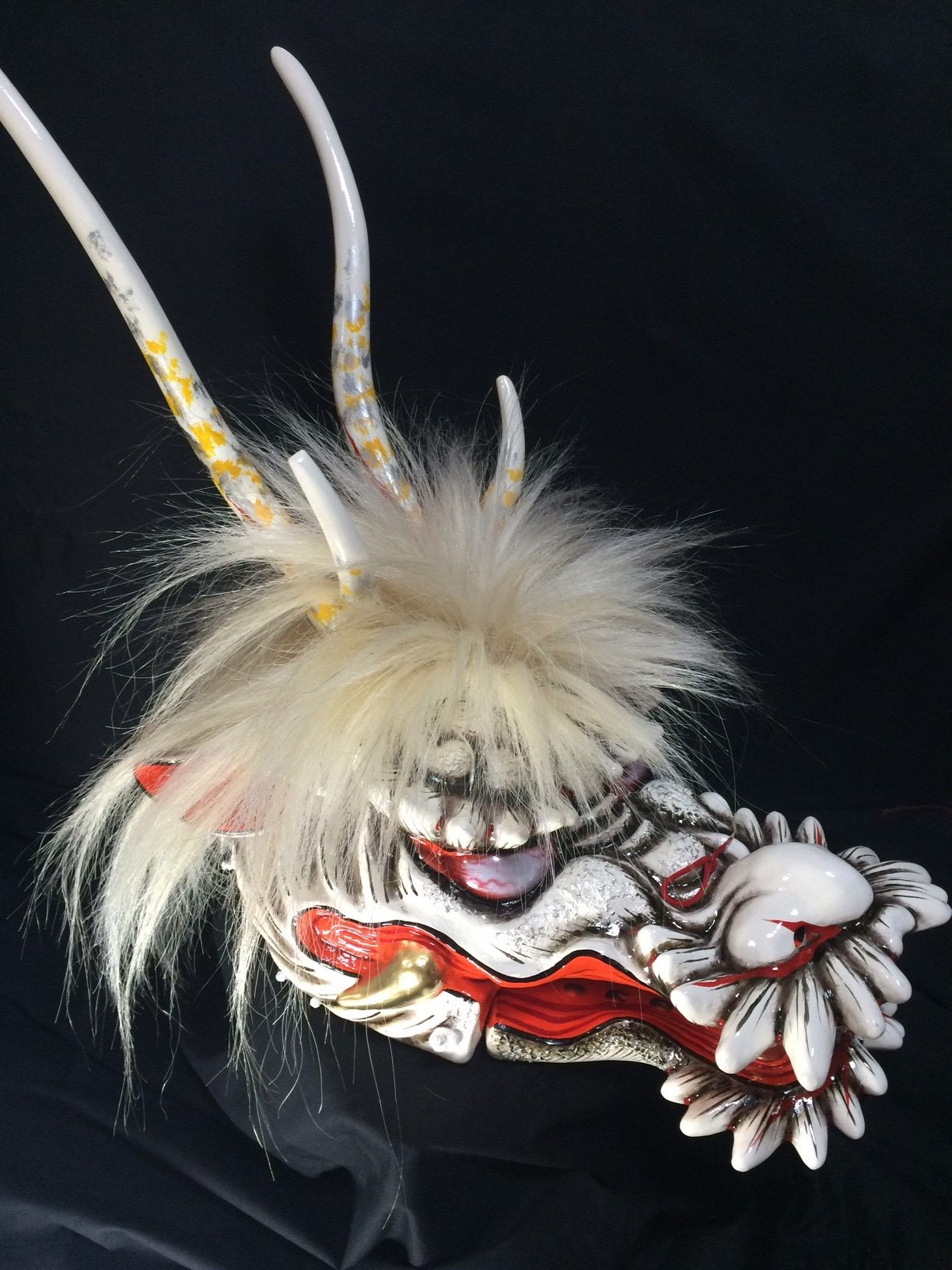【About Japan's Traditional crafts】~Iwami Nagahama Mask ~