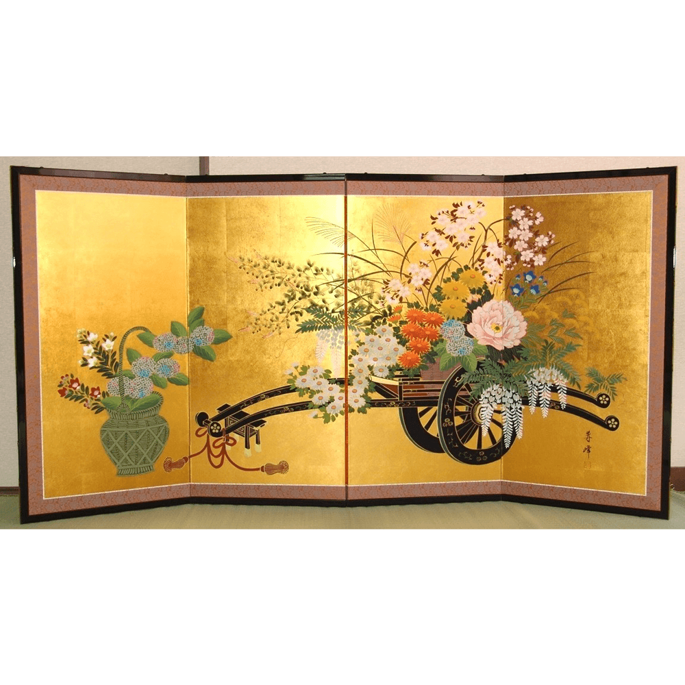 【About Japan's Traditional crafts】~ Japanese  Folding Screen Byobu ~