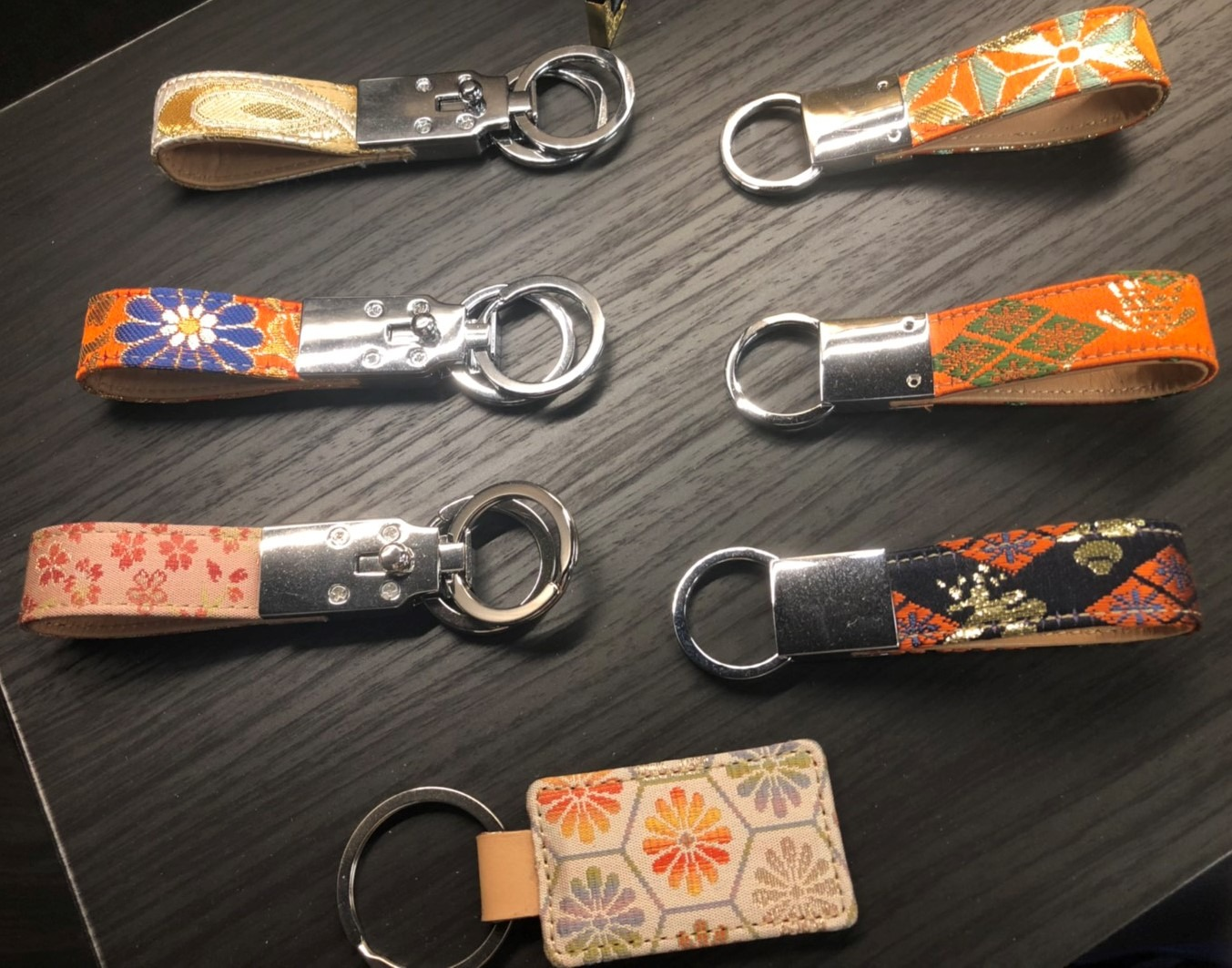 ◆◇◆Nishijin Textile Key-chains◆◇◆